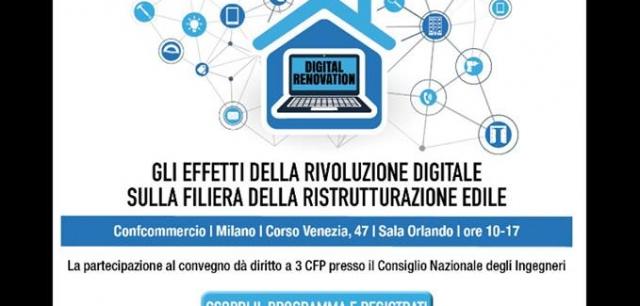 #4BILD#EVENTIDANONPERDERE convegno Sercomated Digital Renovation