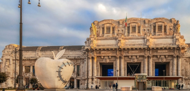 4BILD ON TOP TOUR – ITALCEMENTI E IL PADIGLIONE REALE DELLA STAZIONE CENTRALE